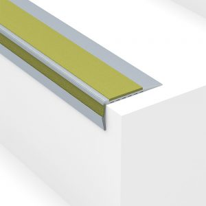 Aluminium stair nosing - Heavy Duty